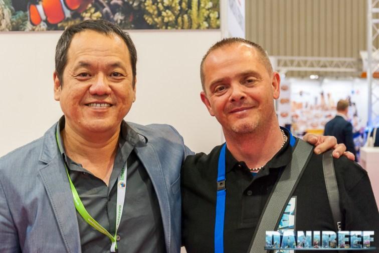 John Ong di Skimz con DaniReef