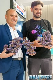 Jake Adams di ReefBuilders con Davide Robustelli