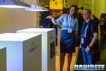 Elly Goeman di Philips con DaniReef