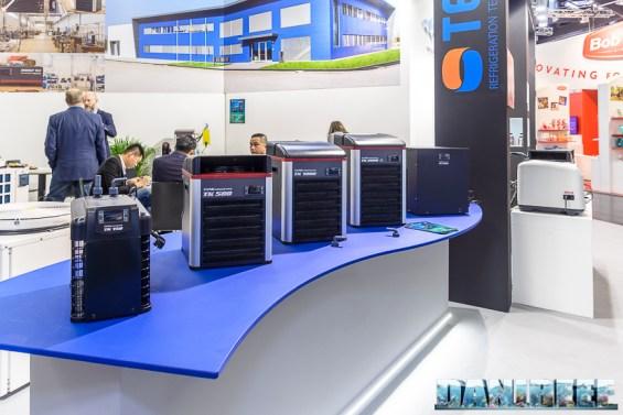 Refrigeratori in scala presso lo stand Teco