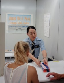Japan Rail Pass Exchange Ticket Counter