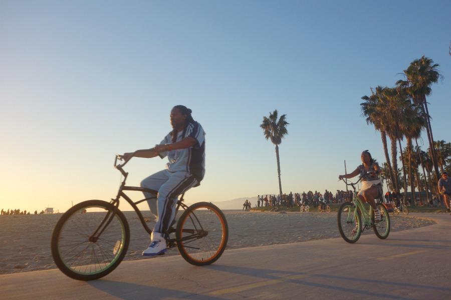 En weekend i Los Angeles