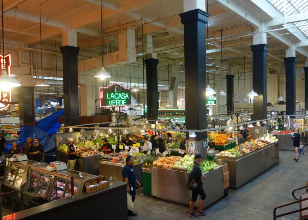 Grand Central Market i Los Angeles