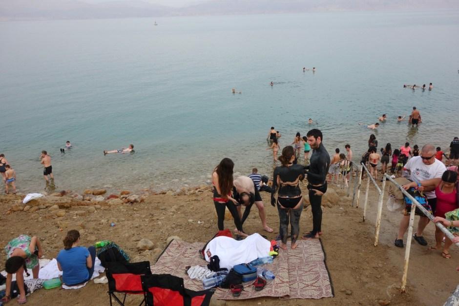 Badning i det Døde Hav