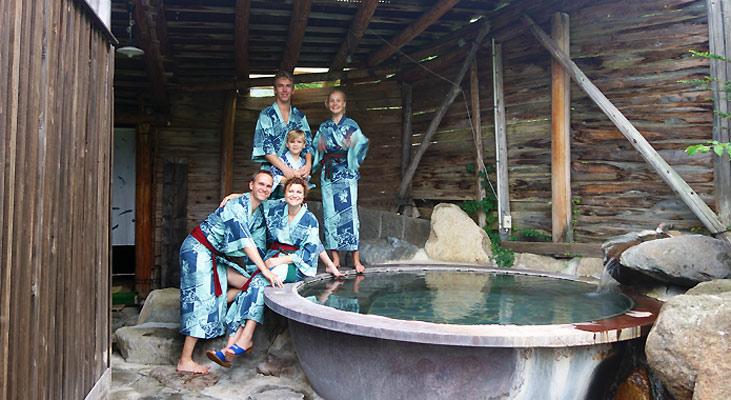 """""""1 døgn på Ryokan med Onsen bade i De Japanske Alper"""" af Bettina Arknæs"""