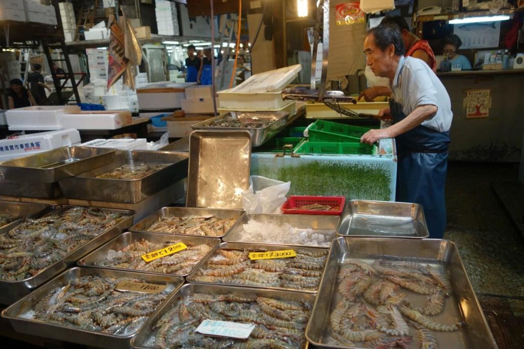 Det berømte Tsukiji fiskemarked lukker