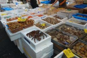 Fiskemarkedet Tsukiji i Tokyo