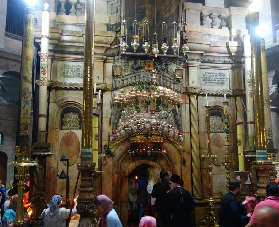 Jesus grav inde i Holy Sepulchre