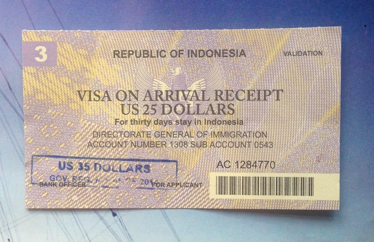 Visum og pas: Hvordan du kommer du ind i Indonesien