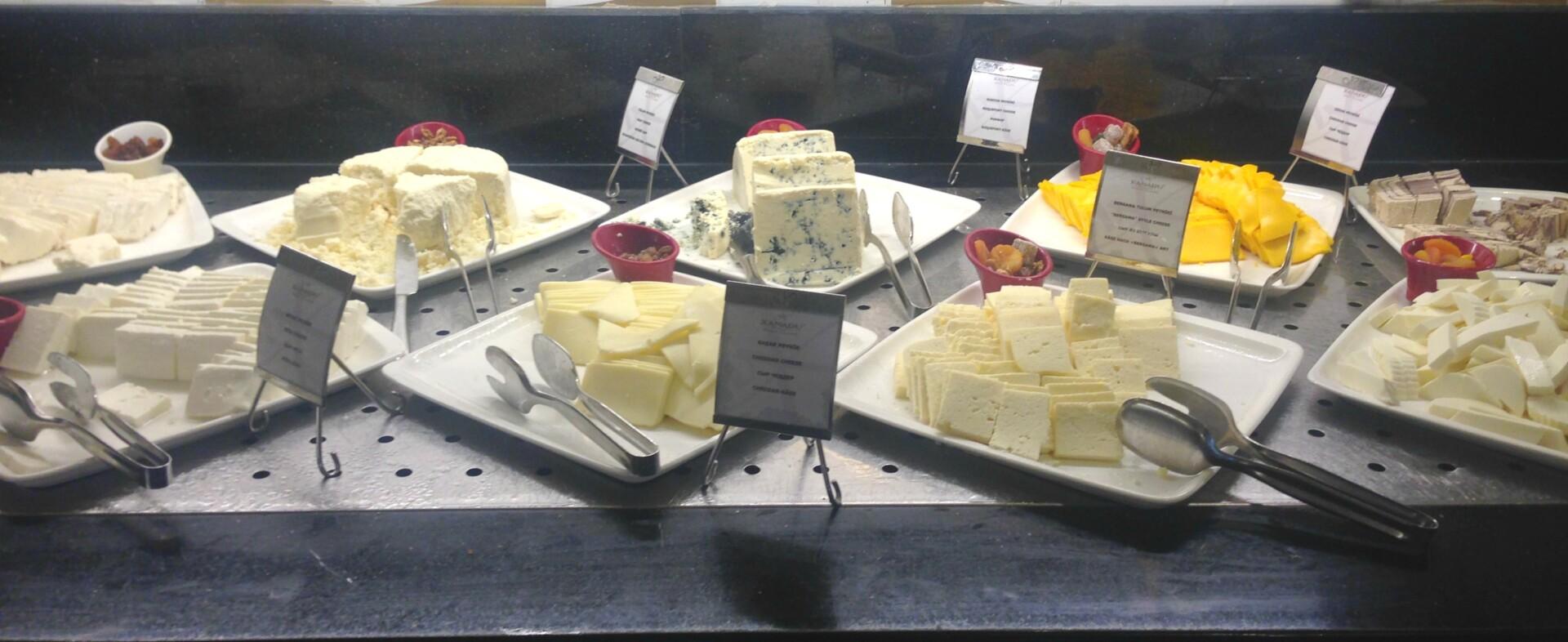 Et udvalg af oste