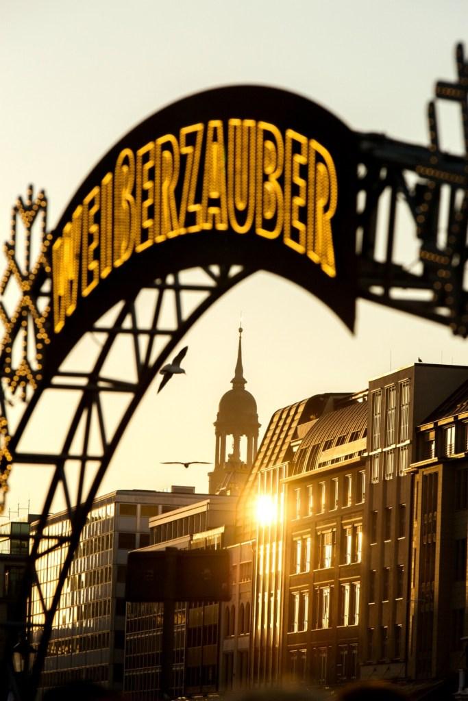 Rathaus Julemarked i Hamburg