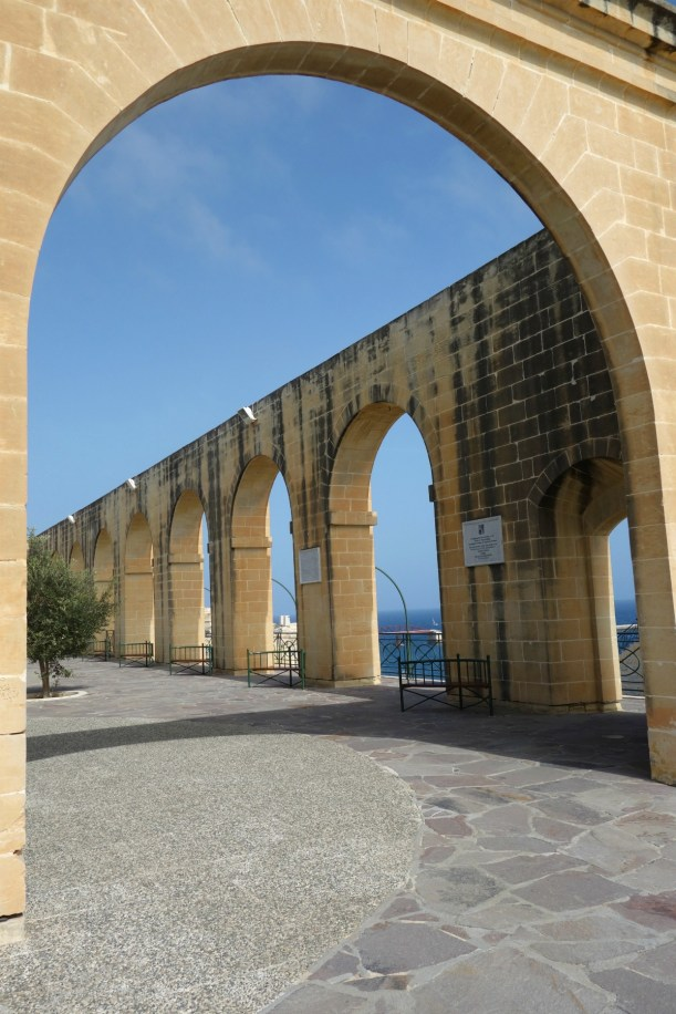Walls i Lower Barrakka Gardens