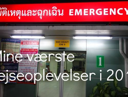 Akutafdeling i Bangkok