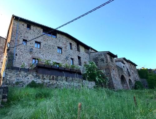 Et romantisk hotel i Santa Pau i Catalonien