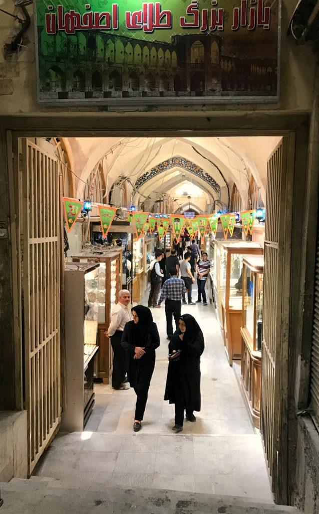 Guldbazargaden i Isfahan