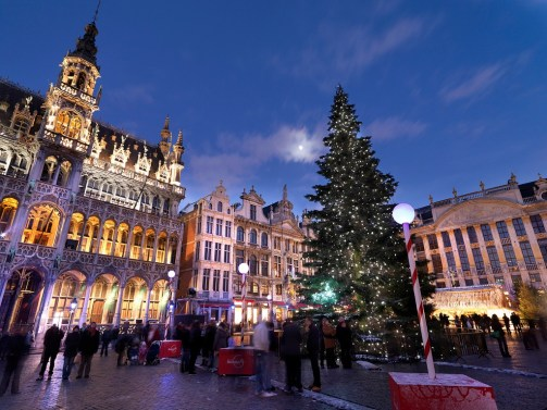 Julemarked i Bruxelles