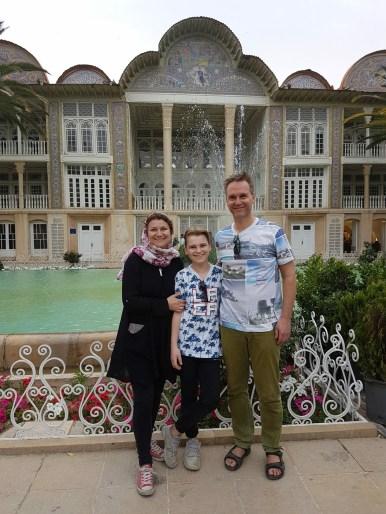 Eram persisk have i Shiraz
