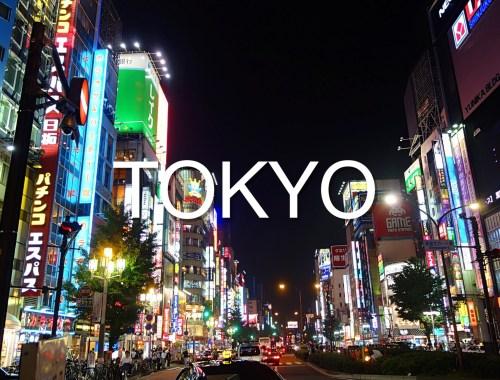 Oplevelser i Tokyo