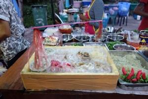 Lokal mad i Ayutthaya