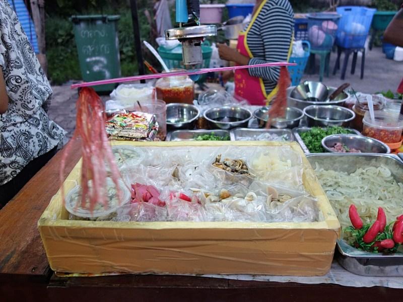 2 lokale autentiske natmarkeder i Ayutthaya