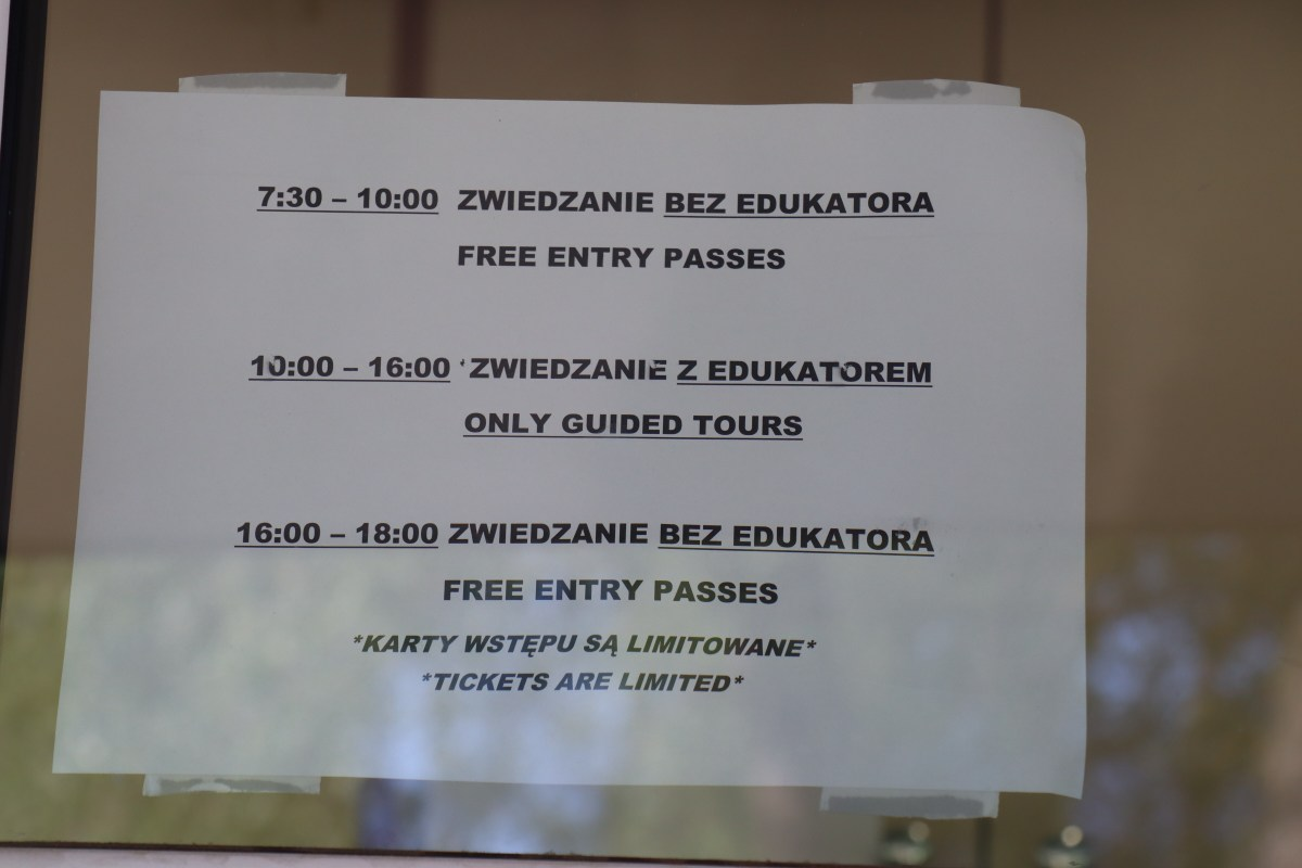 Entry hours