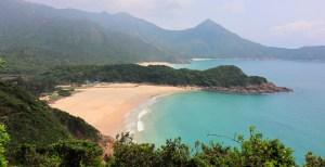 Hong Kongs flotteste strand Ham Tin Beach
