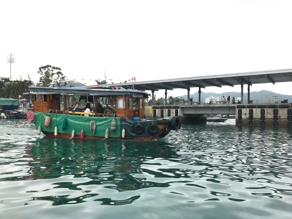 Local boat in Sai Kung
