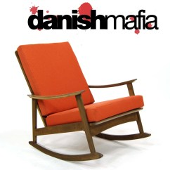 Mid Century Modern Rocking Chair Cafe Chairs For Sale 507975046_o