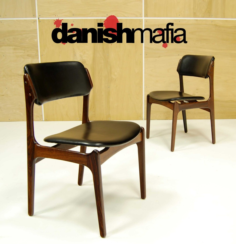 erik buck chairs how to make a chair cover without sewing mid century danish modern rosewood dining lounge side