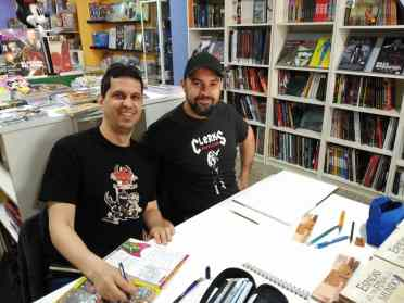 Dani ZAR y Juan Aguilera