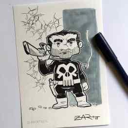 Inktober The Punisher
