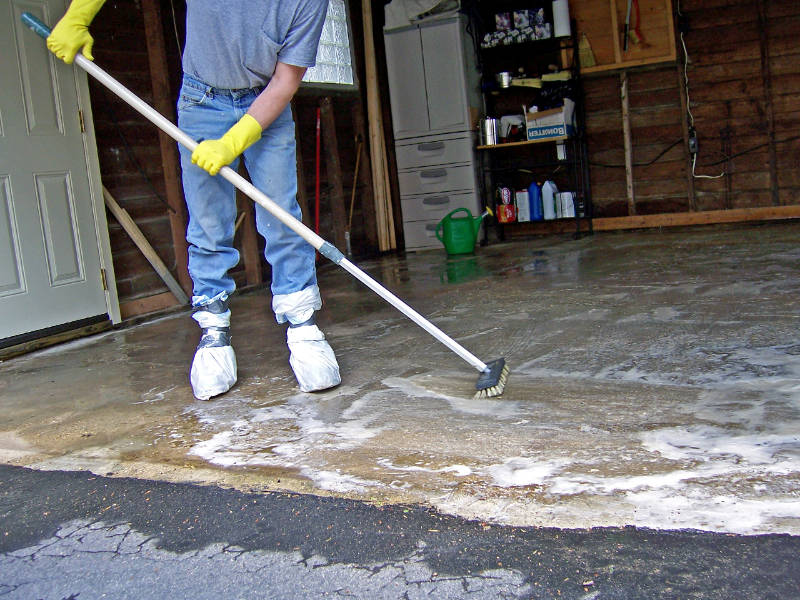 How to Clean Your Garage Floor  Danleys