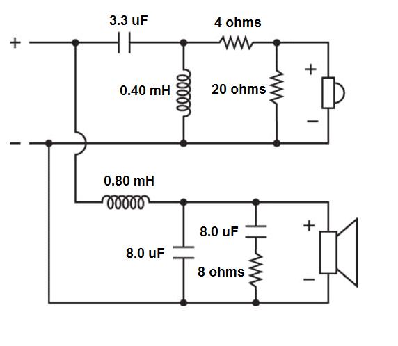 3 Way Speaker Crossover Wiring Diagram Also 3 Way Speaker