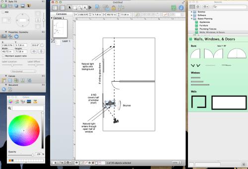 small resolution of better film lighting starts with omnigraffle ipad app dan mccomb film lighting diagram app