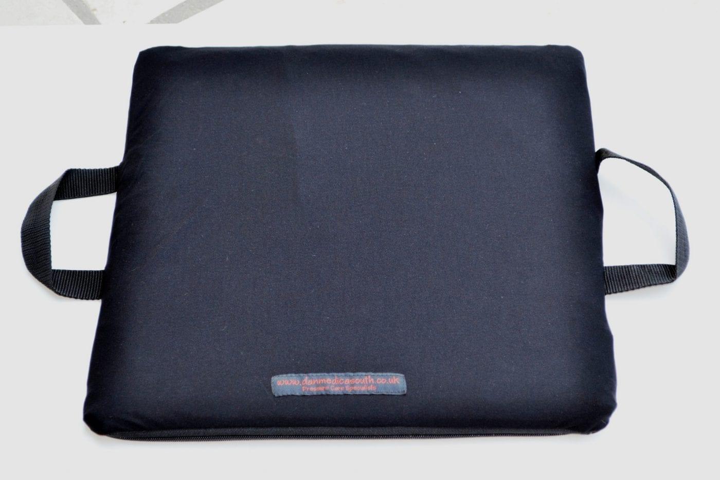 wheelchair cushion quick diy chair covers debbonair gel medium risk and cover  dan