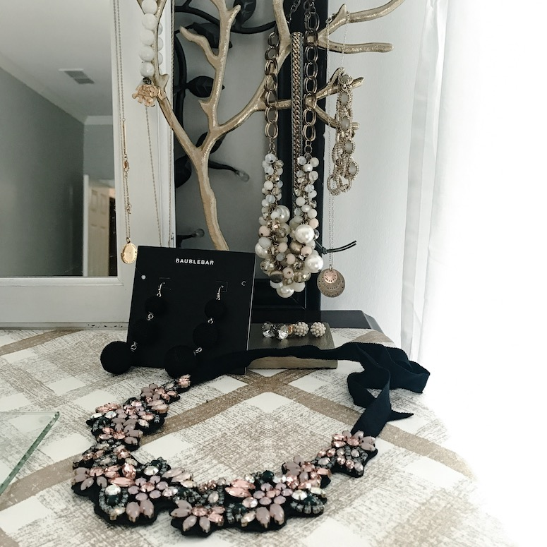 Statement bib necklace from JCrew