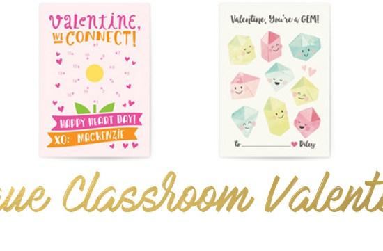 Personalized, unique classroom valentines