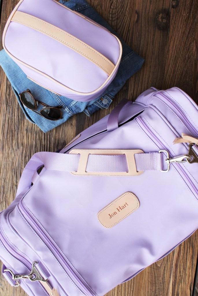Jon Hart Lilac Luggage