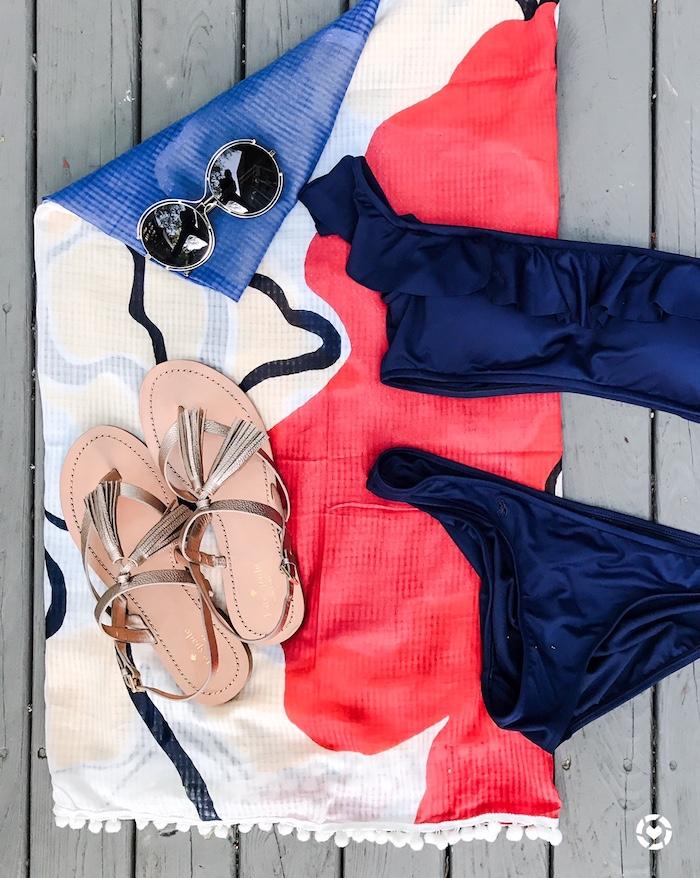 off the shoulder swim suit
