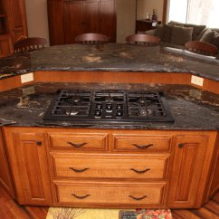 Kitchen Island With Oven Step Ladder Custom Cabinets Mn