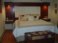 Custom Bedroom Built-in Headboard and Nightstands ...