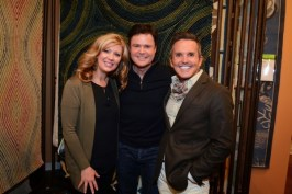 Debbie and Donny Osmond with Dann