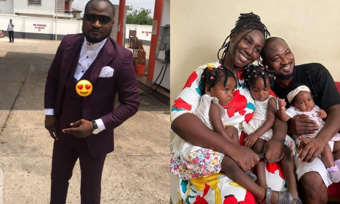 """""""His Children No Longer Recognize Him"""" – Funny Face's Wife Speaks After Reconciliation"""