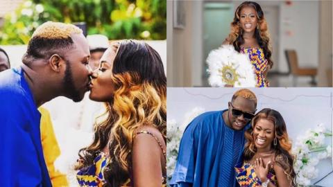 Happy 1st Marriage Anniversary To Mr & Mrs Frimpong