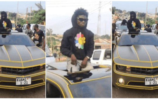 """May sorrow never exit your homes"""" – Kuami Eugene cur$es bloggers for spreading lies about his Oda visit"""