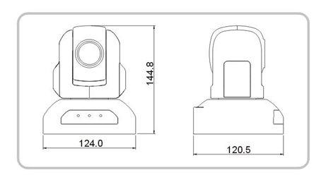 DANNOVO Conference Room Camera,PTZ China 10x Module 500TVL