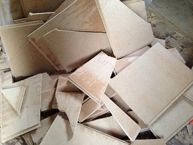 Holz-Dreiecke