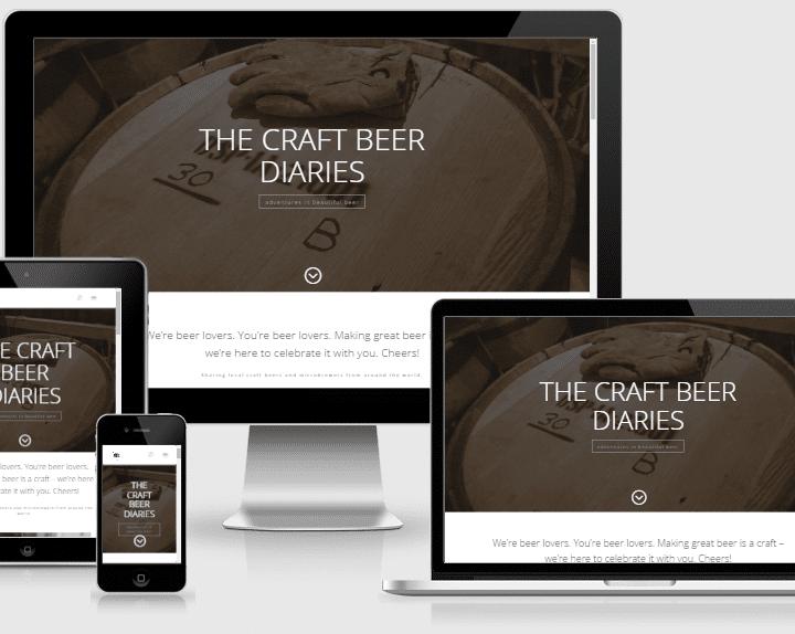 The Craft Beer Diaries Website