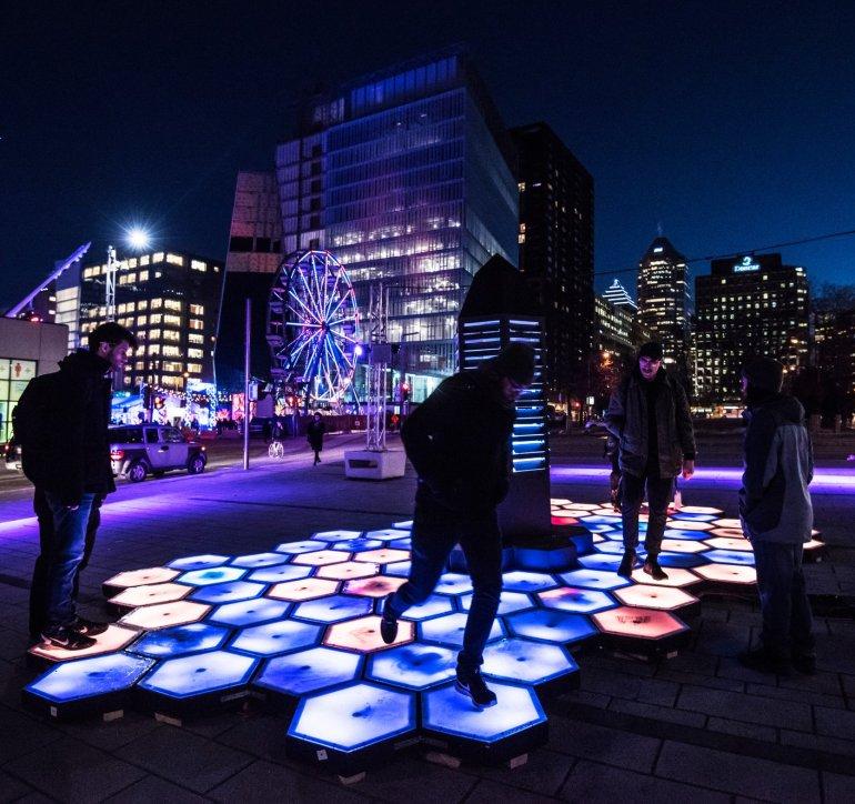2018 | Propolis | encadrement pédagogique – UQAM | scénographie urbaine interactive