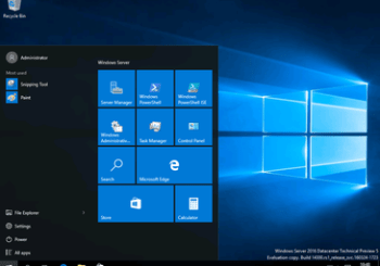 Video recording: Preview RDS in Windows Server 2016